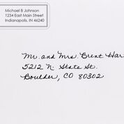 RAL with address envelope